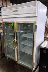 Coldmatic double glass door fridge used refurbished