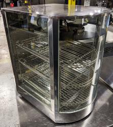 Counter Top Heated Display Case used refurbished